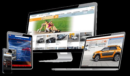 Création de site Internet secteur automobiles - N.C.F 4574d936358b